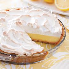 cuisine tarte au citron tarte au citron meringuée recettes cuisine et nutrition