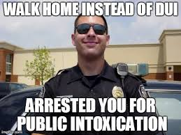Dui Meme - image tagged in copper imgflip