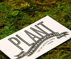 plantable seed paper custom business cards
