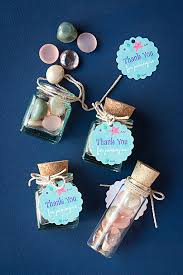 Nautical Themed Giveaways - 3 diy mermaid party favor ideas gift u0026 favor ideas from evermine
