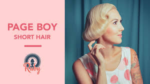 over 50s hairstyles page boy for women page boy for short hair pinup hair tutorial youtube