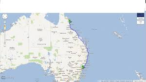 Map East Coast Map Of East Coast Australia You Can See A Map Of Many Places On