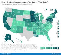 sales tax table 2016 state corporate income tax rates and brackets for 2016 tax foundation