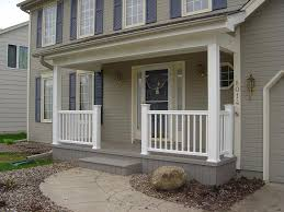 Front Porch Banisters Entrancing Front Porch Railings Ideas Painting A Dining Table