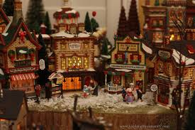 miniature halloween village christmas village houses display ideas u2013 happy holidays