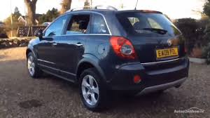 vauxhall antara s cdti blue 2009 youtube