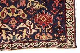 Kuba Rug Antique Little Bijov Kuba Rug In Good Condition Characteristic