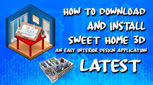Easy Home 3d Design Software by How To Download And Install Sweet Home3d Design Software Latest