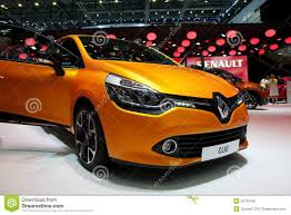 renault orange renault clio editorial photo image of metal clio concept 29934771