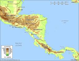 political map of central america and the caribbean panama history geography facts points of interest