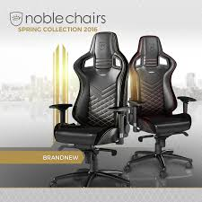 Leather Gaming Chairs We Stock Noblechairs A New Gaming Chair Brand Fea U2026 Overclockers Uk