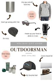 holiday gift guide the outdoorsman bnb styling