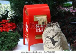 Mailbox Post Christmas Decorations santa mail stock images royalty free images u0026 vectors shutterstock
