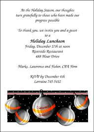 Invitation Greetings Free Holiday Invitation Wording For 99 Company Business Party