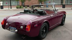 mg mg midget with twin rotary youtube