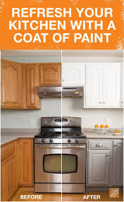 Can You Spray Paint Kitchen Cabinets by Best 25 Repainted Kitchen Cabinets Ideas On Pinterest Painting