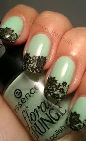 50 intricate lace nail art designs lace nails black laces and