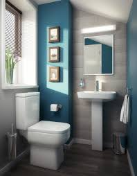 colours cloakroom downstairsloo blue aqua styling homedecor