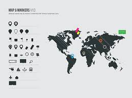 world map vector free vector world map markers free vector site free
