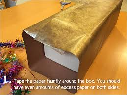gift wrap box gift wrapping basics how to gift wrap a box