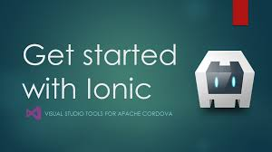 getting started with ionic apps in visual studio