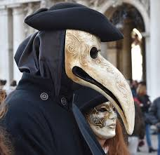 plague doctor s mask why is this curious mask in the martin luther show the reformer s