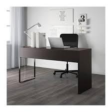 ikea black brown desk ikea micke desk in black brown aptdeco