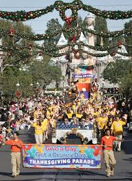 thanksgiving day parade at disneyland park disney parks