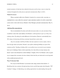 domino u0027s direct interactive marketing proposal may 2015