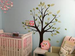 nursery wall stickers tree wall decals for nursery artequals white tree wall decal for nursery uk baby wall