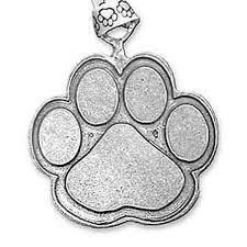 paw ornament 4 legged