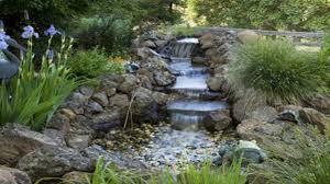 backyard waterfalls pondless waterfall build back yard waterfall