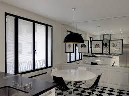 carrelage cuisine noir et blanc carrelage cuisine noir et blanc la cuisine est totalement
