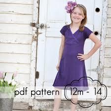pattern a line shift dress pdf sewing patterns dresses