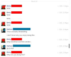 Text Messages Show Horror Inside - my dead girlfriend keeps messaging me on facebook i ve got the