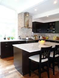 cabin remodeling contrasting kitchen cabinets cabin remodeling