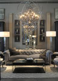 Beautiful Living Rooms Look Inside Restoration Hardware U0027s New Rh Atlanta Design Gallery