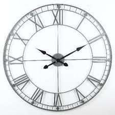 Grande Horloge Murale Carrée En Bois Vintage Achat Grande Horloge Achat Vente Pas Cher