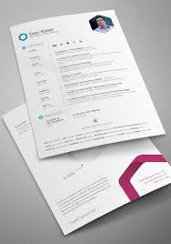 Interactive Resume 40 Professionally Designed Free Resume Templates U2013 Design Sparkle