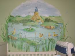 murals for girls rooms if you have a little one on the way what marvelous nursery murals with calm wall color and white wooden amster bed for wall murals paint ideas furniture fantastic mural themes combine with calm