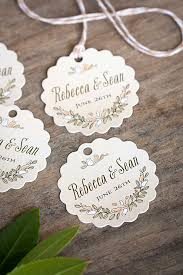 christening favor ideas baptism tags custom christening favor tags sle tags for
