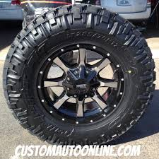 Truck Wheel And Tire Packages Custom Automotive Packages Off Road Packages 17x8 Moto