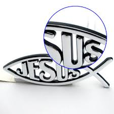 christian products christian products wholesale custom jesus fish 3d car emblem buy