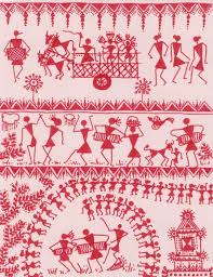 Warli Art Simple Designs 182 Best Warli Painting And Drawing Images On Pinterest Tribal