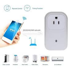 eeekit wi fi smart socket timer outlet us plug wireless switch app