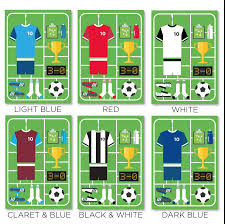 personalised airfix football print by that u0027s nice that