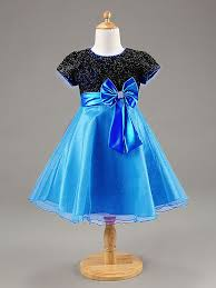 2015 new kids party wear dresses for girls with bow kids girls