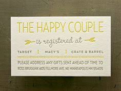 wedding registry card wording wedding registry on invitation yourweek a83418eca25e