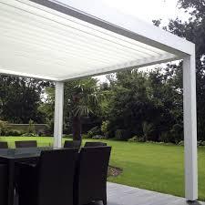Veranda Pour Terrasse Veranda Toit Terrasse 6 Pergola Bioclimatique Lames Orientables