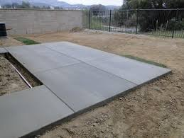Backyard Cement Ideas Anyone Ideas For This Backyard